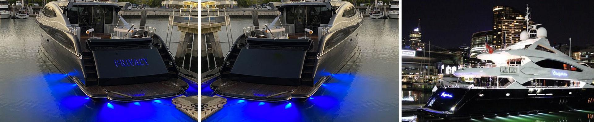 Boat Lighting & Signage