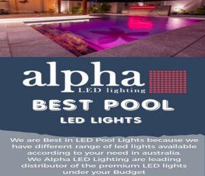 best pool led lights